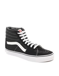 Enlarge Vans SK8 Old Skool Black High Top Sneakers