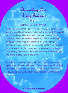 Guided Message for Tuesday,  September 22nd 2015. Click to subscribe! http://www.channellinglove.net/daily-guidance.html