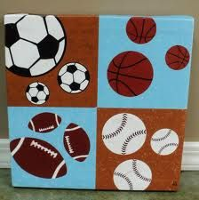 sports pictures for kids room - Google Search