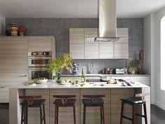 Гнездо Тамара: нейтральный кухня добавляет гибкости, что позволяет еда, цветы и вино, чтобы светить: инновационные проекты кухне Poggenpohl
