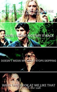 Bellarke the one story where the Princess and the Knight fall for each other