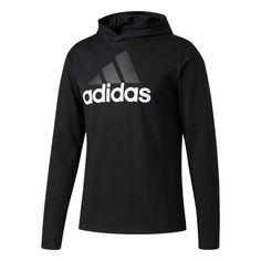 Adidas Men's Badge of Sport Long Sleeve Hoodie