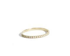 Stackable Rings Diamond eternity ring Diamond ring half