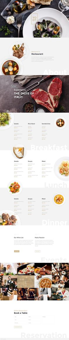 Food infographic  Coming Soon: Cafe&Restaurant WordPress Theme.  Check out its release: www.templa