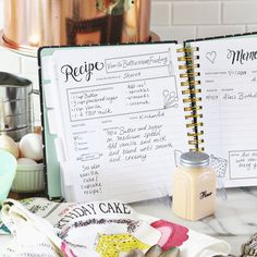 The Keepsake Kitchen Diary Kitchen Plannerkitchen Pantrydiy