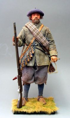 A Scots Covenanter musketeer , 1644 . - OSW: One Sixth Warrior Forum