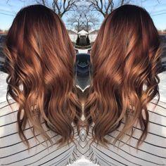 81 Auburn Hair Color Ideas in 2019 for Red-Brown Hair hair asian Reddish Brown Hair Color, Hair Color Auburn, Brown Hair With Highlights, Brown Blonde Hair, Light Brown Hair, Brown Hair Colors, Auburn Highlights, Peekaboo Highlights, Burgundy Hair