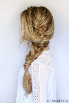 Throwing your hair into a braid can be one of the easiest ways to get it up and out of the way. I prefer them over ponytails because those can cause unwanted breakage wherever the band is wrapped over the hair. Side braids are a quick…