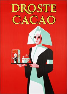 #Droste #cacao - the Memory of the Netherlands, 1971-1972 affiche.