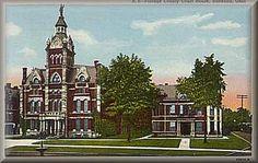 Portage County courthouse ~ Ravenna, Ohio