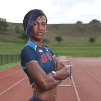 Olympics 2012: Hurdles... she's from the town that I live in! I will be watching Kellie Wells in the London games!