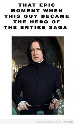 Severus Snape // I never expected it!
