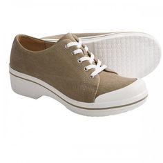 Dansko Veda Canvas Lace Up Shoes For Women | Footwear