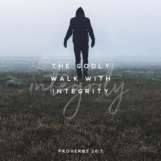 The just man walketh in his integrity: his children are blessed after him. Proverbs 20:7 KJV http://bible.com/1/pro.20.7.KJV