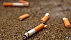 Childhood asthma 'admissions down' after smoking ban   Cigarettes