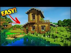 Minecraft: Amazing Starter/Survival House Tutorial - How to Build an Easy House/Base in Minecraft - Minecraft Servers View