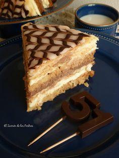 El Zurrón de los Postres: Tarta el Capricho de Moisés Cupcake Cakes, Cupcakes, Cakes And More, Coffee Cake, Tiramisu, Waffles, Recipies, Cheesecake, Chocolate