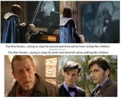 """Some things never change -<< proof that its always Doctor Who, not """"new"""" and """"old"""" who."""