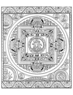 To print this free coloring page coloring pink floyd for Tibetan mandala coloring pages