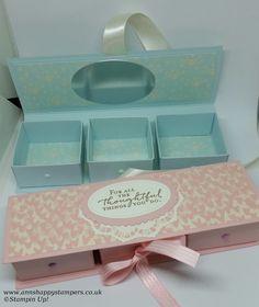 3er Geschenkbox-Schachtel - nur Maße (keine Anleitung) auf