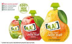 Mon fruit juste mixé, en gourde, NA!, printemps 2015