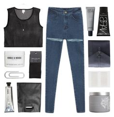 """""""through the other side of the question"""" by kristen-gregory-sexy-sports-babe ❤ liked on Polyvore featuring Monki, NARS Cosmetics, red flower, SELECTED, Windle & Moodie, Bulgari, L:A Bruket and claudiastopsets"""