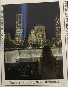 Tribute in light, 9/11 memorial, New York city
