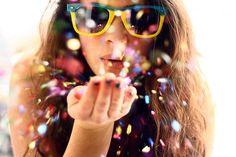 #confetti #sunglasses
