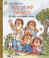 "This Is My Family by Gina and Mercer Mayer - a Little Golden Book.""This is my family. Each one of us is different, but we love each other a lot"". Preschool Family Theme, Preschool Books, Toddler Preschool, Book Activities, Preschool Activities, Preschool Class, Family Crafts, Educational Activities, Kindergarten Social Studies"