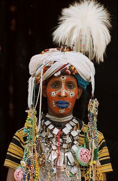 Wodaabe, Chad. Photos Marie-Laure De Decker