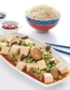 Easy Mapo Tofu vegan vegetarian gluten free