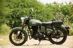 Military Green Royal Enfield Classic paint by Eimor Customs | 350CC.com