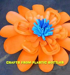 Crafts from plastic bottles 2