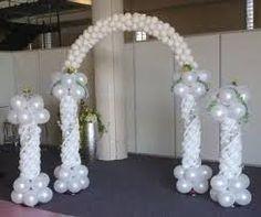 Resultado de imagen para imagenes de arcos de globos para boda