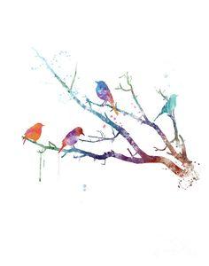 #animal #bird #nature #birdwatercolor #gift