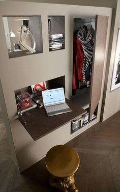 Muretto d'arredo polifunzionale da inserire nel tuo soggiorno o ingresso utilizzato anche come parete divisoria: elegante e particolare