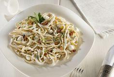 ¿Te te antoja preparar una deliciosa pasta? Prepara nuestra receta de Spaguetti en salsa de Perejil y Tocino. ¡Tus platillos de ricos a deliciosos!