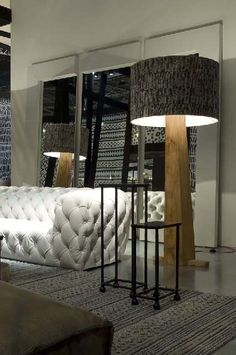 Chester Moon Sofa Benao Lamp Designed By Paola Navone For Baxter