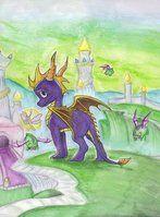 Spyro by shazy