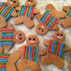 Joseph and his coat of many colors cookies