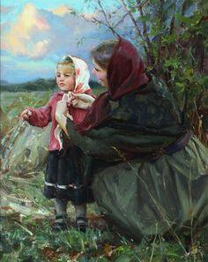 Mother and Daughter ~ Michael Malm