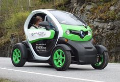 Emobility Geiranger - Electric Car Poster - Electric Car Print - Green Car Photo