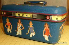 upcycled train case