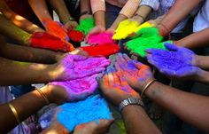 hold color in your hands