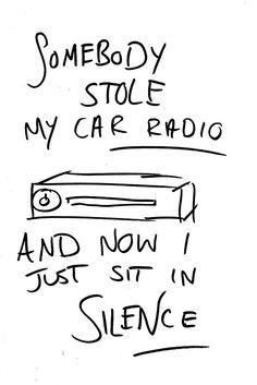"""Twenty One Pilots car radio doodle "" Posters by featherarrows | Redbubble"