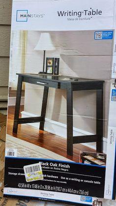 $39 Walmart Painted Desk Makeover