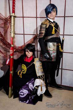 Top 20 ToukenRanbu Cosplay Photos Bring You into Fantastic Game World