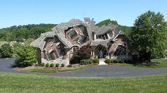 Michael Jantzen Deconstructs Buildings Into Fantastical Fragmentary Forms | The Creators Project