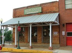 Small towns in Texas, this is what Main Street would look like. Location: Mercantile, Nacogdoches, TX.