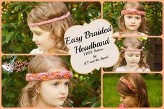 Easy Braided Headband FREE crochet Pattern